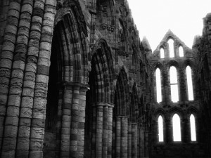 The Abbey Ruins in Whitby