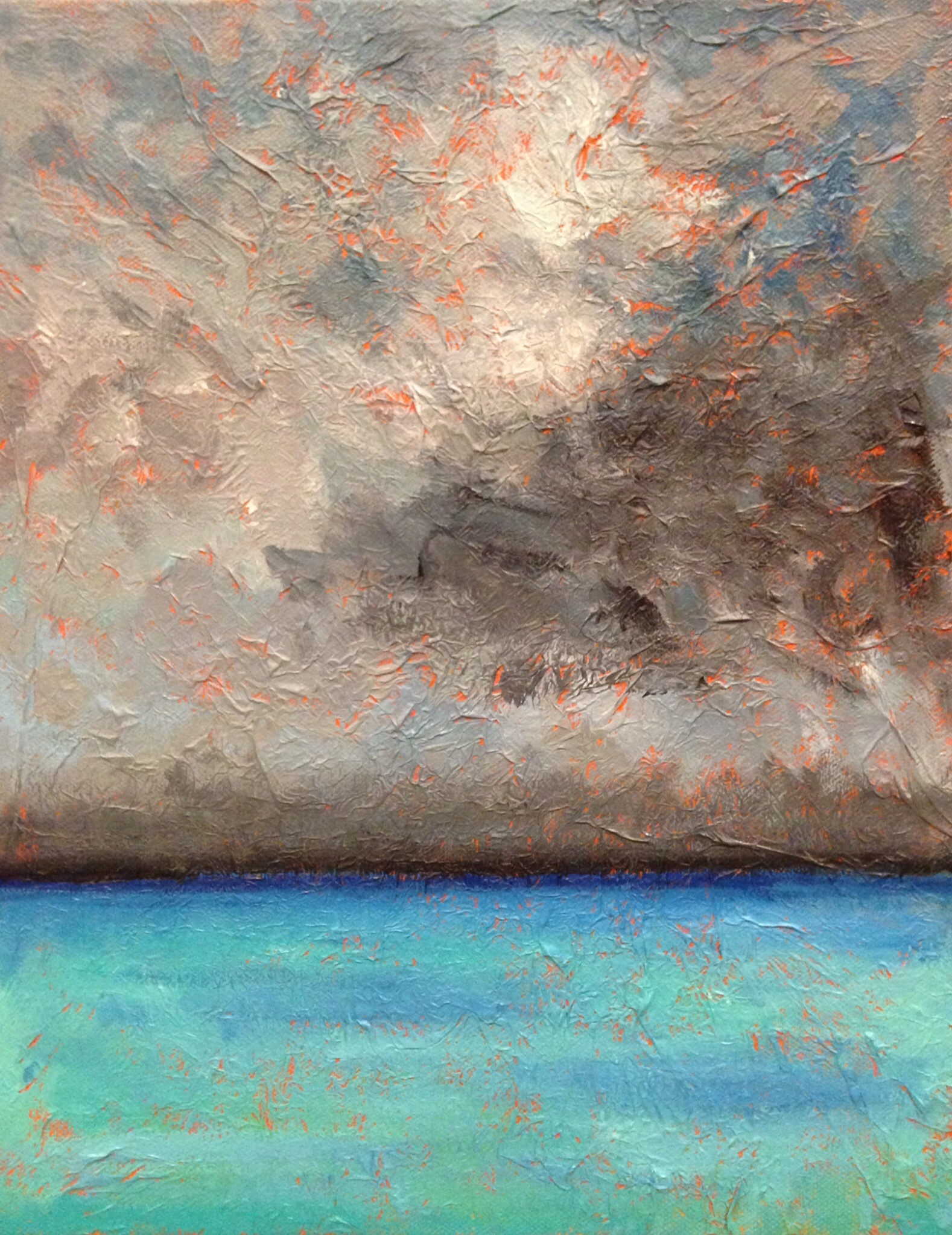 Painting: out to sea